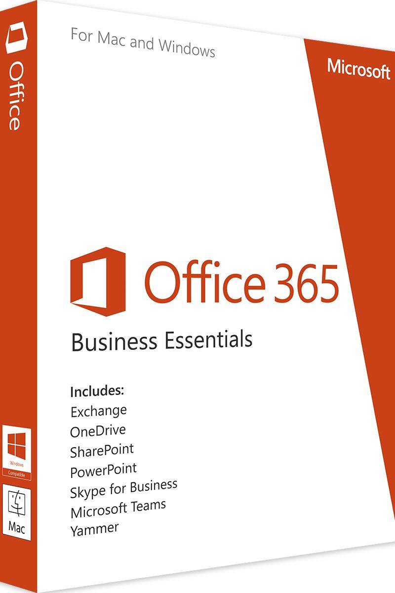 OFFICE 365 BUSINESS ESSENTIALS OPEN