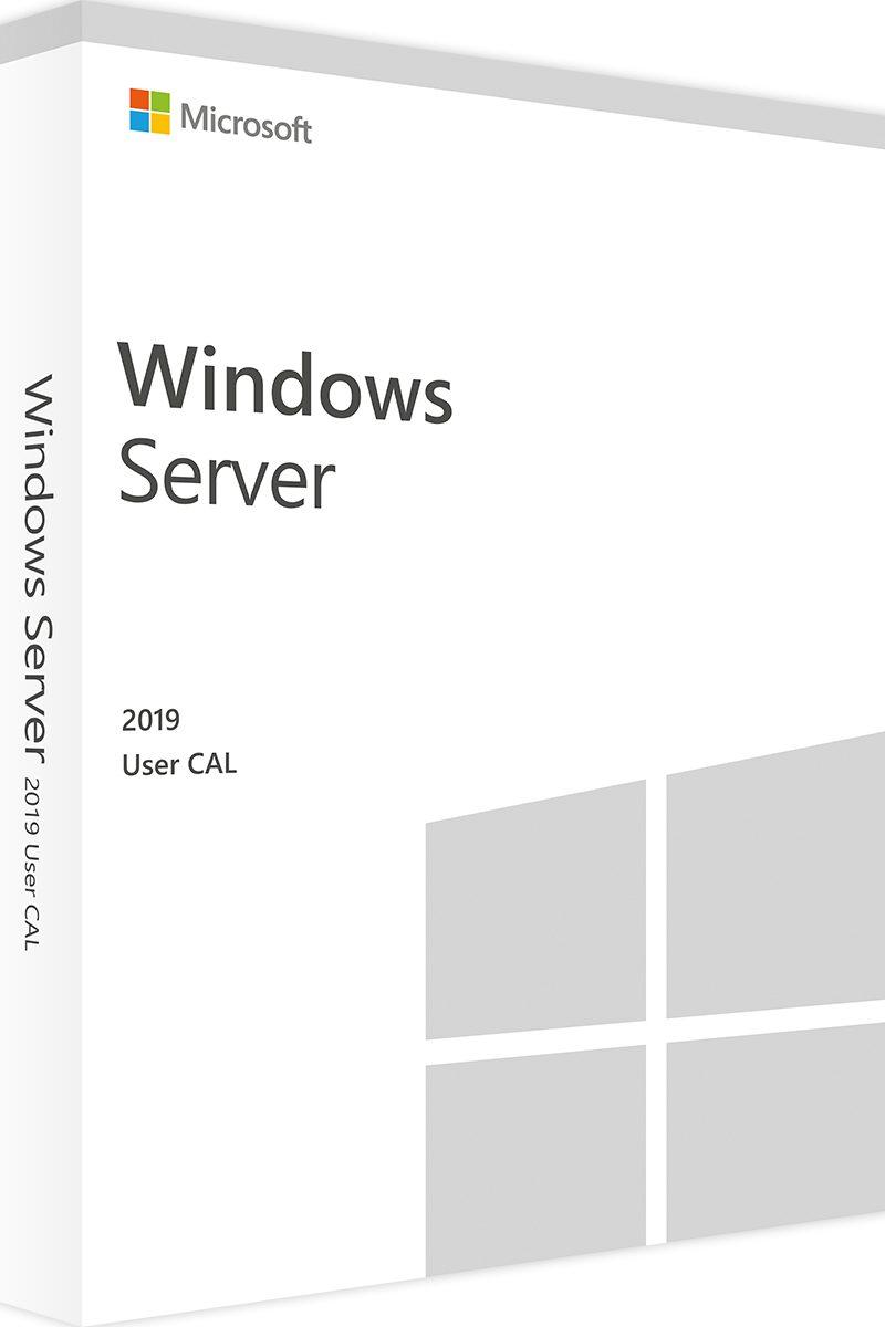 WINDOWS SERVER 2019 1 Clt User CAL- 3 year