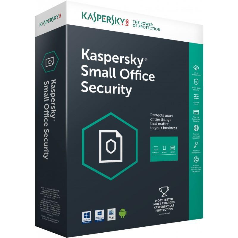 ANTIVIRUS KASPERSKY SMALL OF. SEC. SERVER 7.0 + 10L ( LIC. ELECTRONICA )
