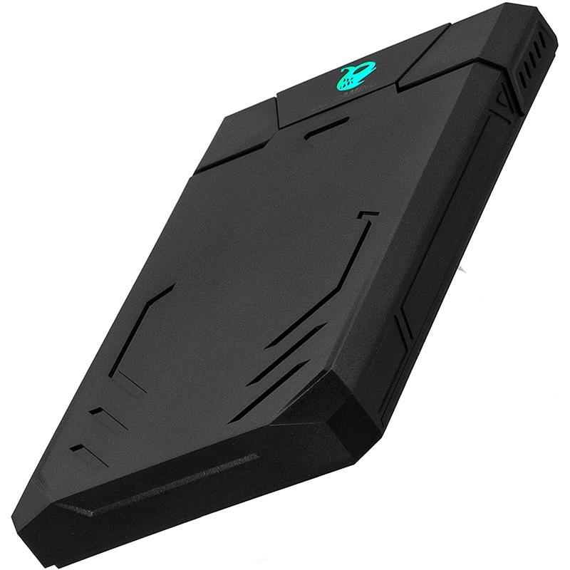 CAJA EXTERNA COOLBOX GAMING HDD 2.5 SATA USB 3.0 BLACK