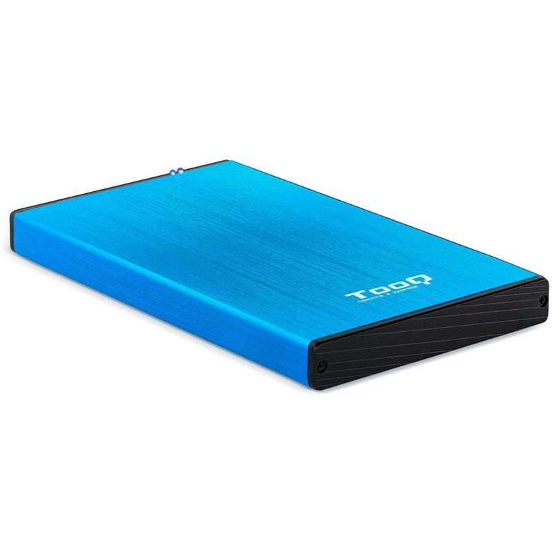 CAJA EXTERNA TOOQ TQE-2527B HDD 2.5 SATA USB 3.0 BLUE