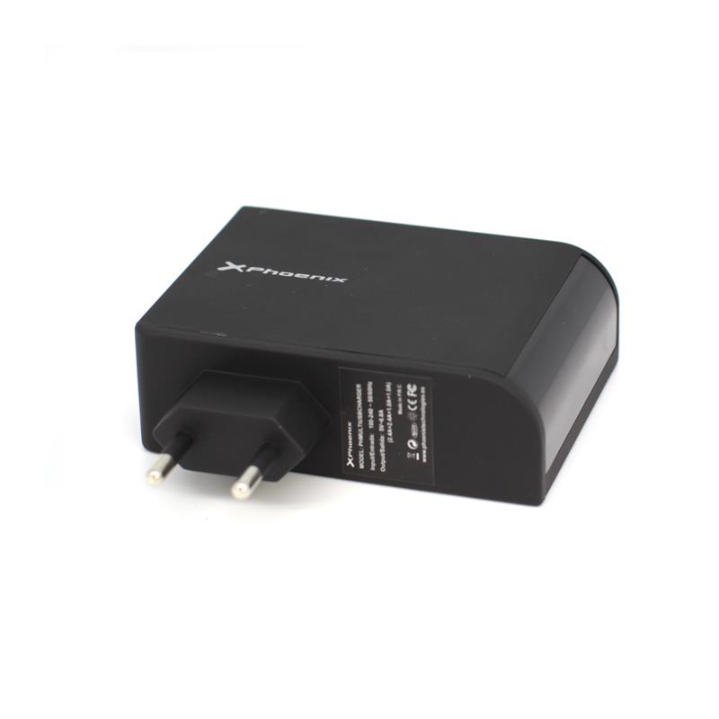 CARGADOR PHOENIX SMARTPHONE 4X USB 5.1V 2.1A