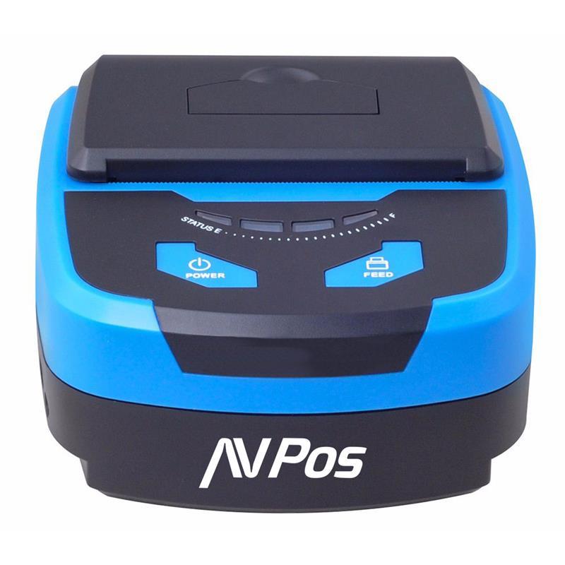 IMPRESORA AVPOS TERMICA PORTATIL MP800R BLUETOOTH + FUNDA PROTECTORA