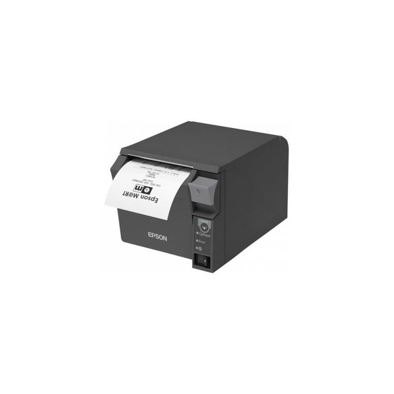 IMPRESORA EPSON TERMICA TM-T70II USB + SERIE BLACK