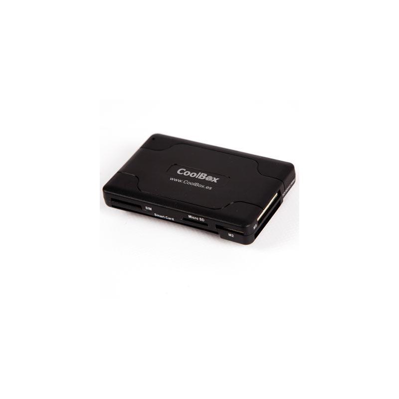 LECTOR DE TARJETAS COOLBOX SIM + DNIE + HUB USB