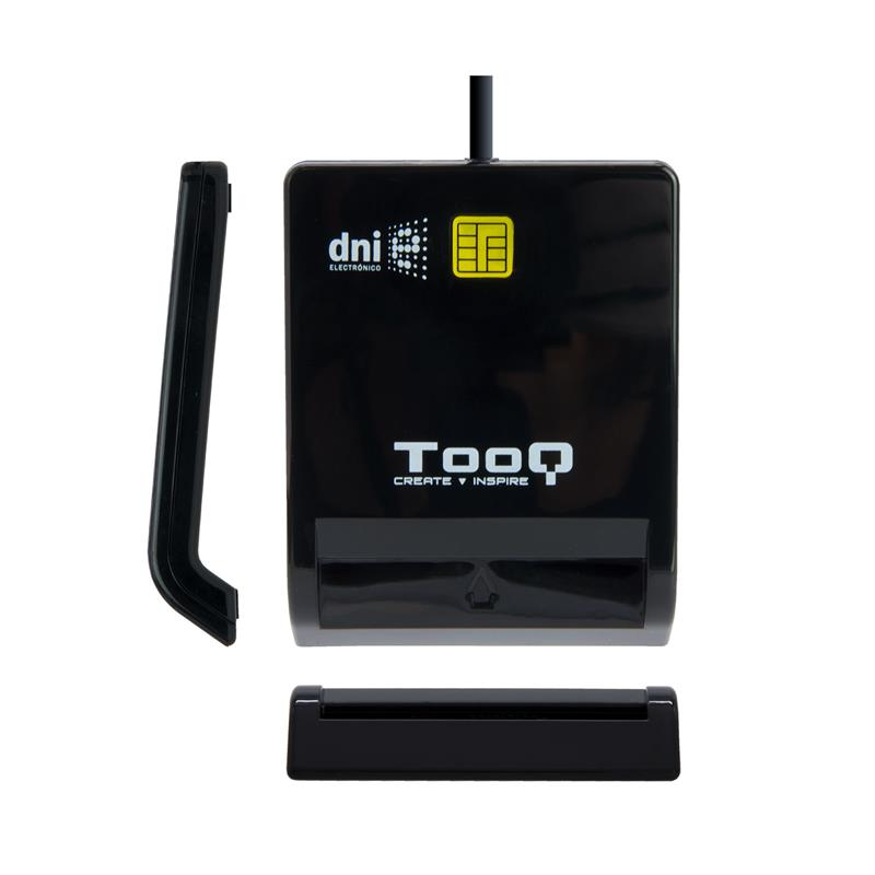 LECTOR DE TARJETAS DNIE TOOQ TQR-210 DNI USB BLACK