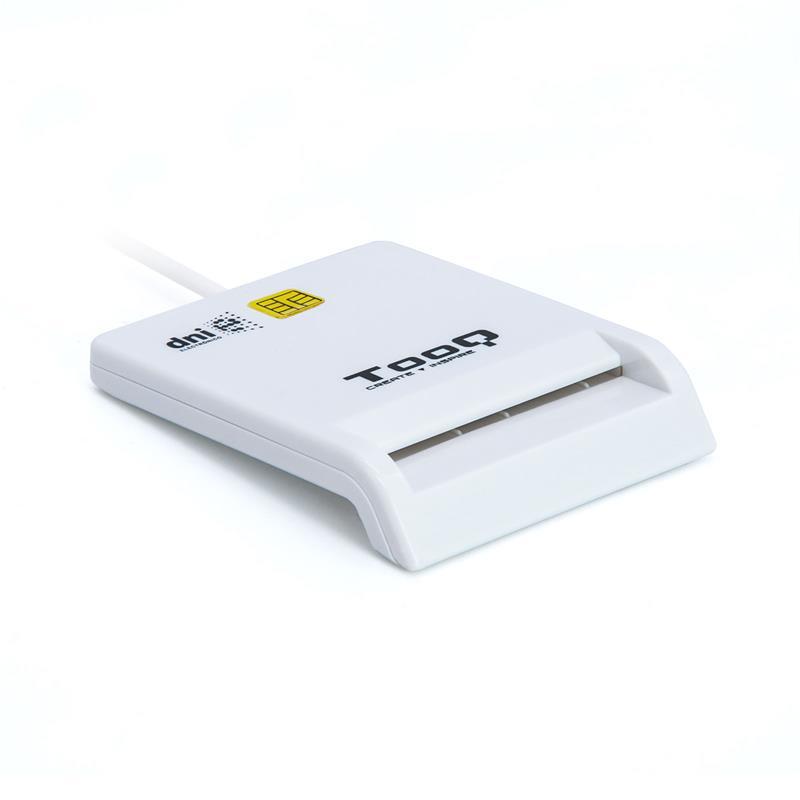 LECTOR DE TARJETAS DNIE TOOQ TQR-210 DNI USB WHITE