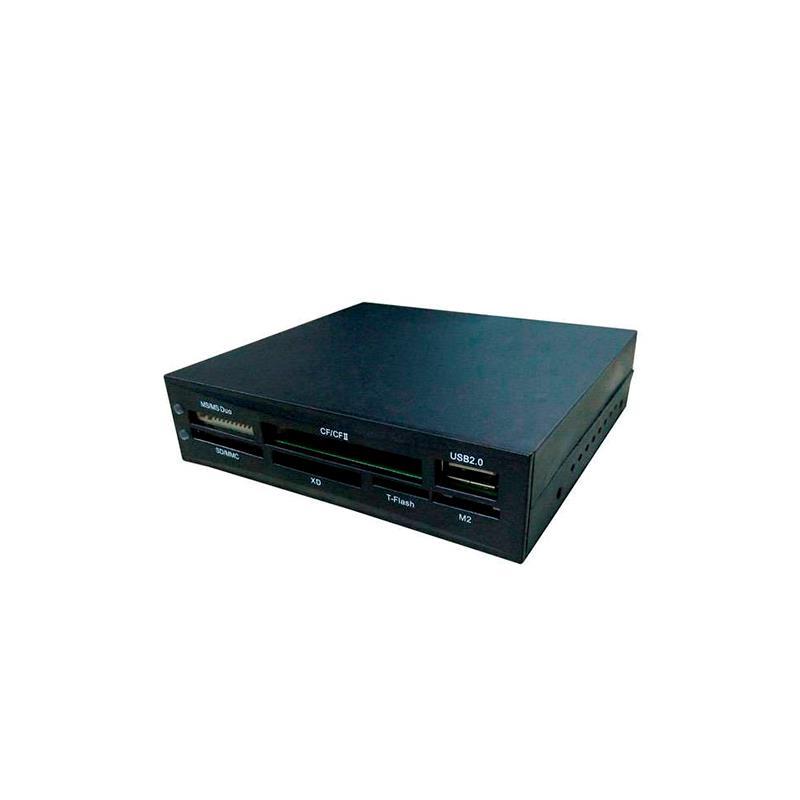 LECTOR DE TARJETAS INTERNO + PUERTO USB COOLBOX