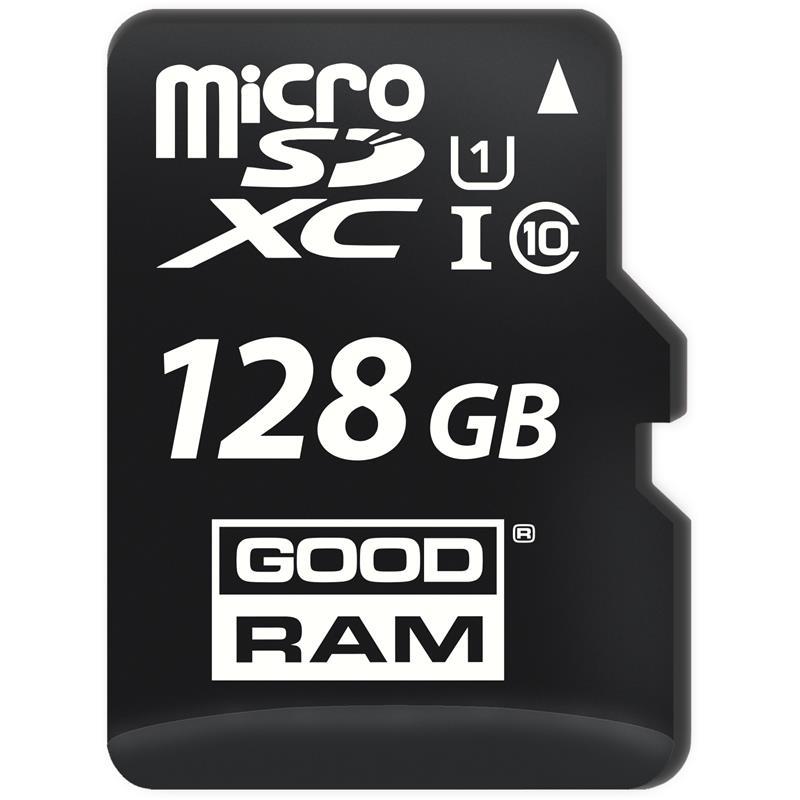 MEMORIA MICRO SD 128GB GOODRAM C10 + ADAPTADOR SD