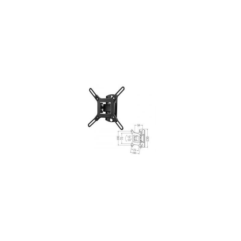 SOPORTE TV MONITOR PHOENIX INCLINABLE 26-42 20KG BLACK