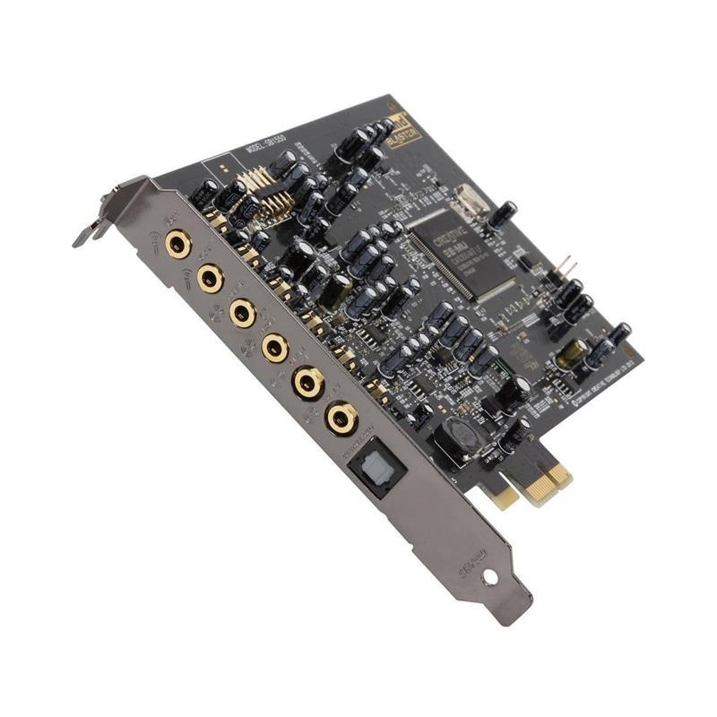 TARJETA DE SONIDO CREATIVE AUDIGY RX PCI-E 7.1