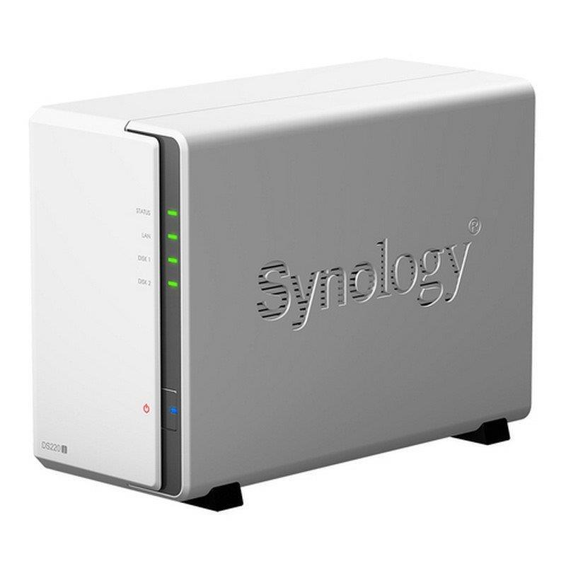 UNIDAD NAS SYNOLOGY 2 HDD DISKTATION DS220J