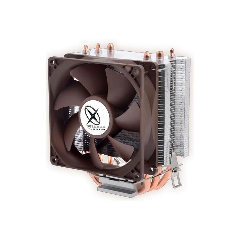 VENTILADOR COOLBOX QUASAR TWISTER III LED INTEL/AMD