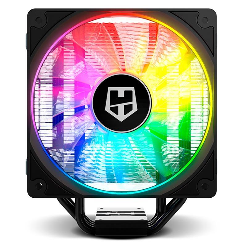 VENTILADOR NOX HUMMER H-224 RGB INTEL/AMD