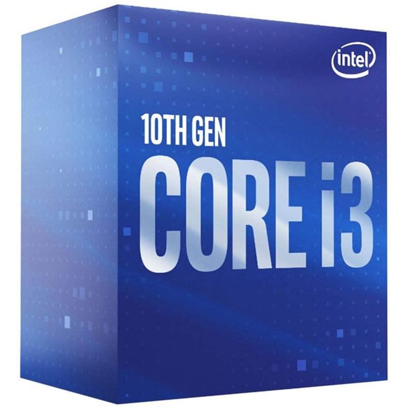 PROCESADOR INTEL CORE I3 10100F 3.6GHZ 6MB IN BOX NO GRAPHICS