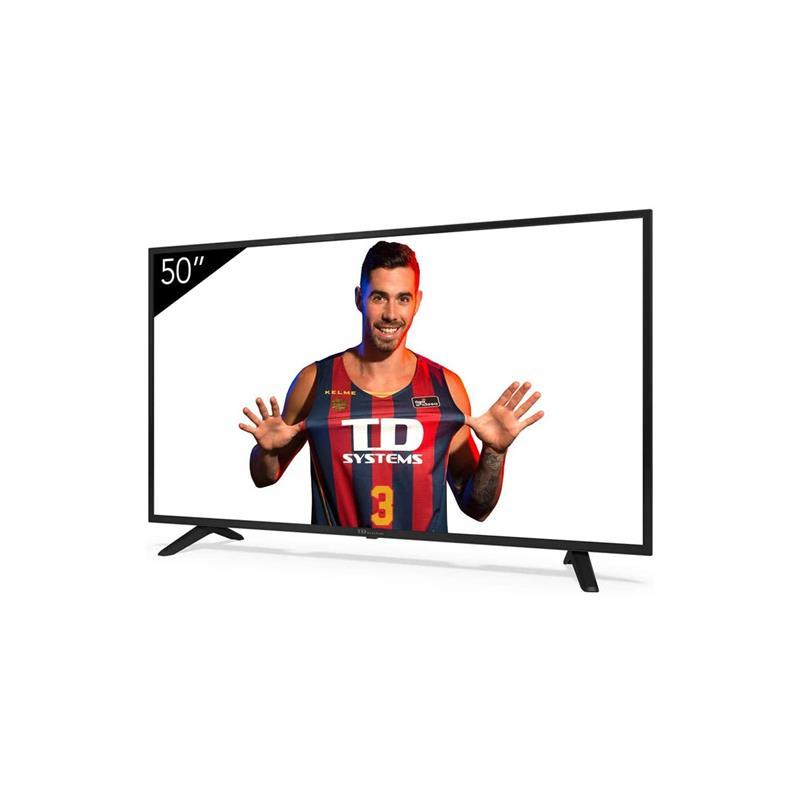 TELEVISOR LED TD SYSTEMS 50 4K UHD USB SMART TV ANDROID 9.0 WIFI BLUETOOTH