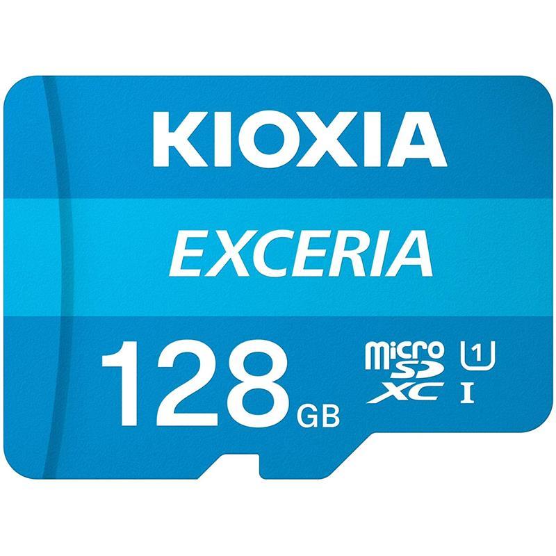 MEMORIA MICRO SD 128GB TOSHIBA KIOXIA HC C10 + ADAPTADOR SD