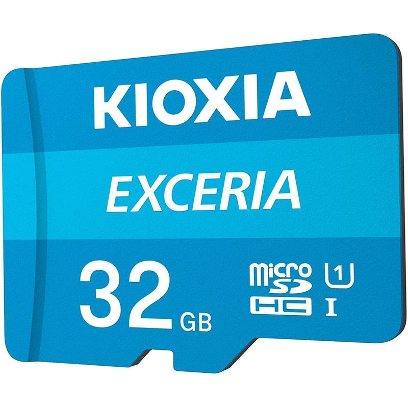 MEMORIA MICRO SD 32GB TOSHIBA KIOXIA HC C10 + ADAPTADOR SD