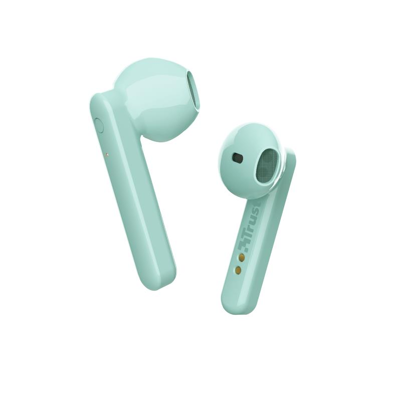 AURICULARES TRUST PRIMO TOUCH EARPHONES BLUETOOTH WIRELESS MINT