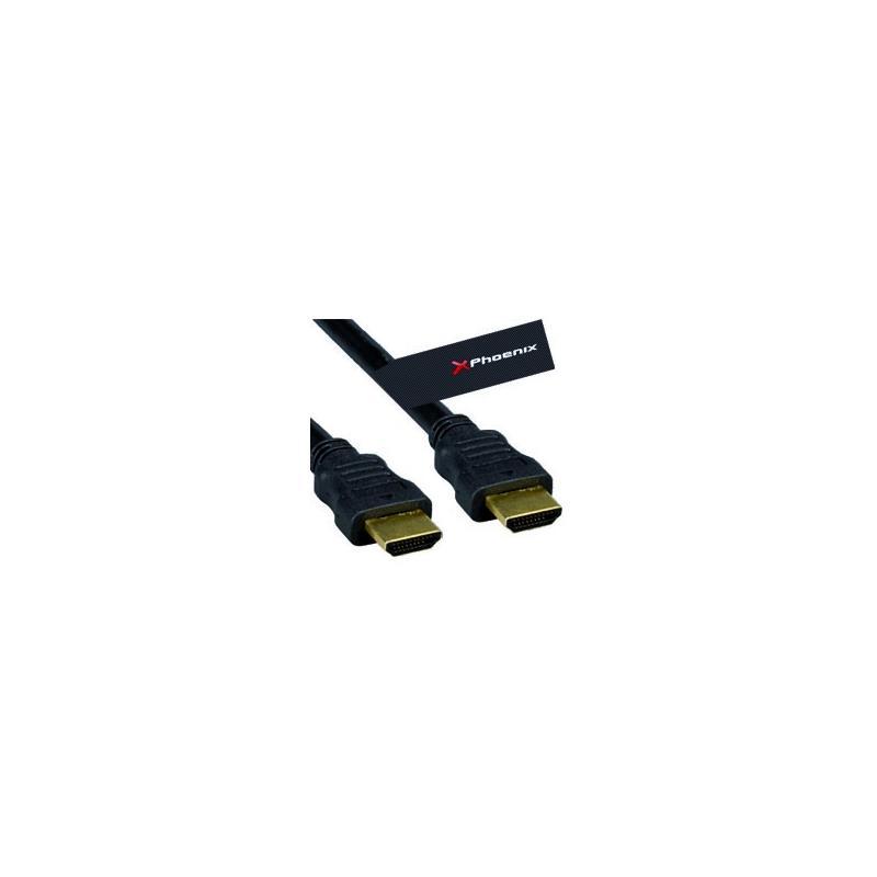 CABLE HDMI PHOENIX V1.4 AM/AM 3M