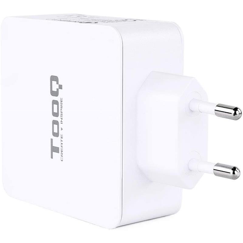 CARGADOR SMARTPHONE/TABLET TOOQ USB C PD + USB A QC 3.0 48W