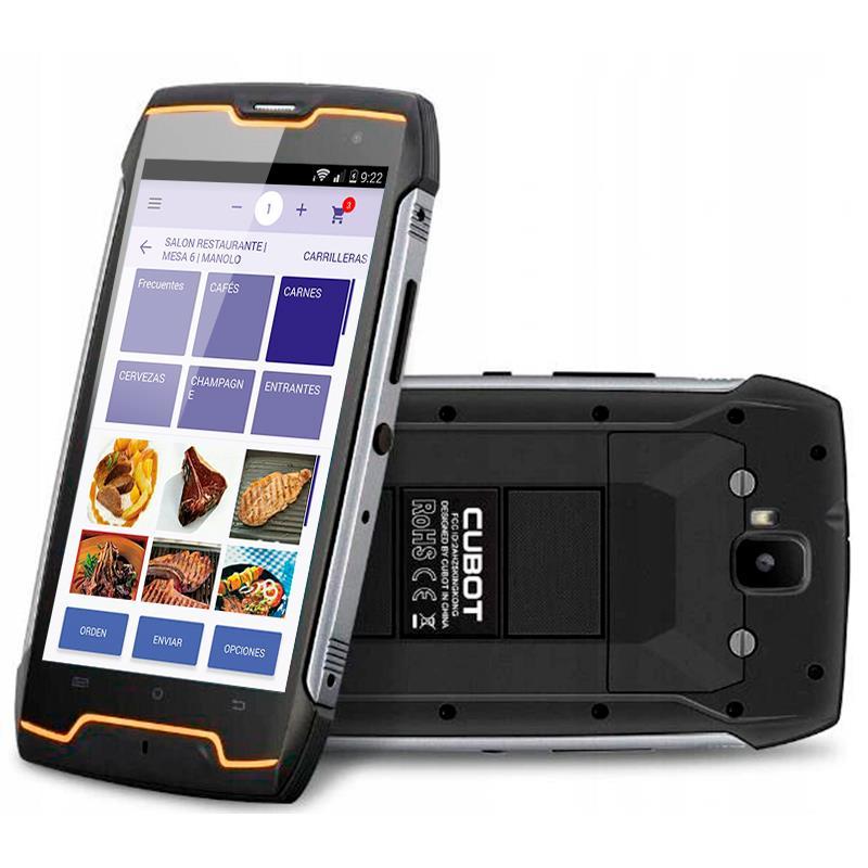 COMANDERO PDA SMARTPHONE CUBOT KING KONG CS 5 QUAD 2GB/16GB/4G/IP68/RUGERI