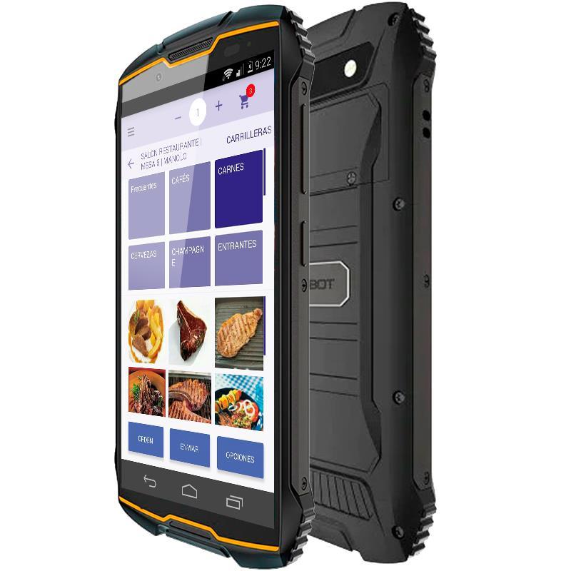 COMANDERO PDA SMARTPHONE CUBOT KING KONG MINI 4 3GB/32GB/4G/IP68/RUG/ORANG