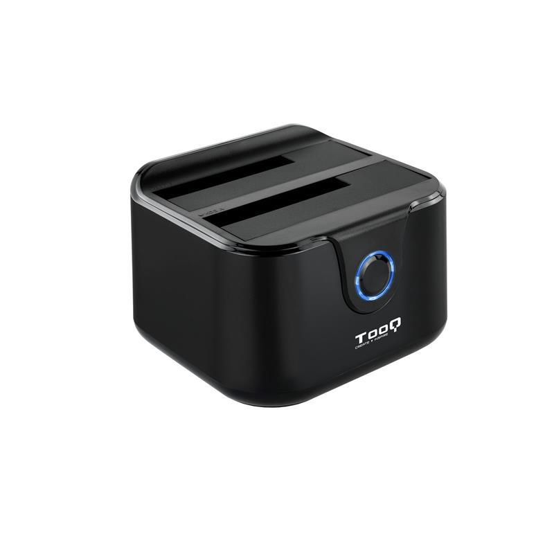 DOCK HDD TOOQ 3.5/2.5 SATA CLONE OTB USB 3.0 BLACK