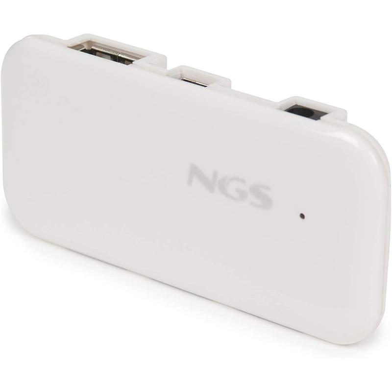 HUB USB NGS 4 PUERTOS USB 2.0