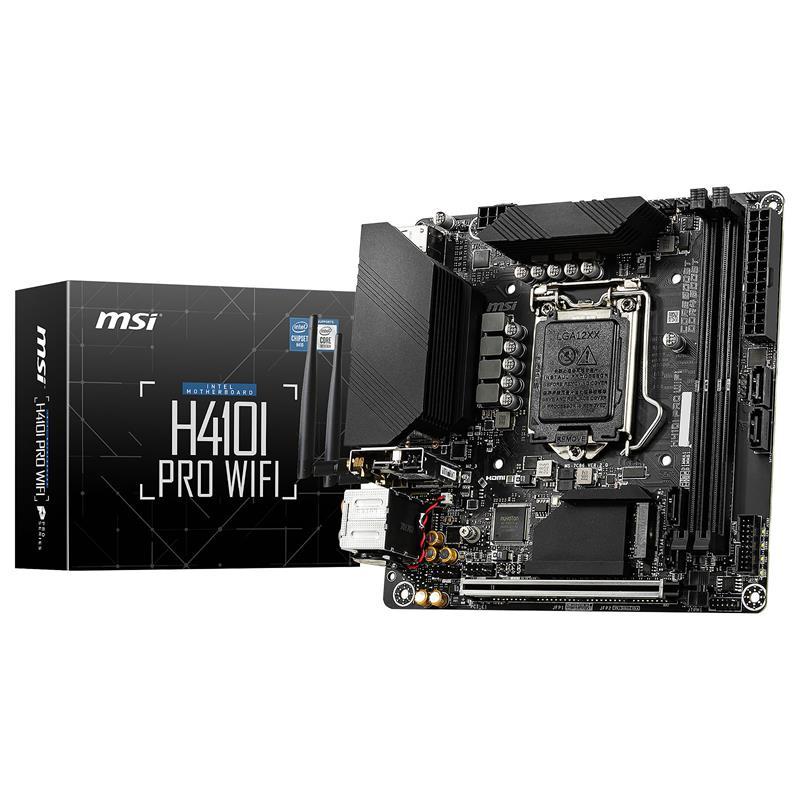 PLACA BASE MSI H410I-PRO WIFI DDR4 MINI ITX