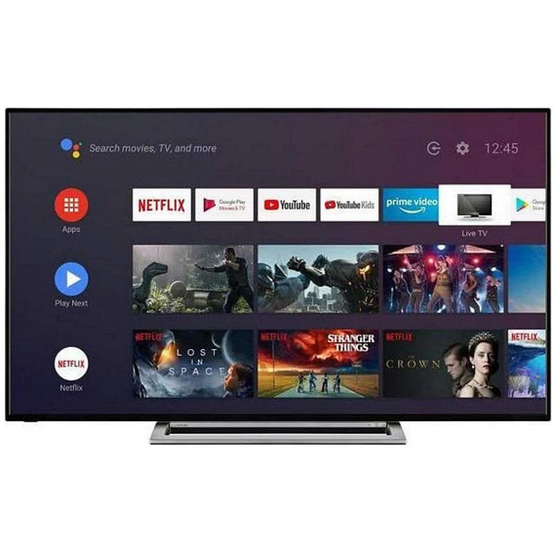 TELEVISOR LED TOSHIBA 65 UHD 4K USB ANDROIDTV WIFI GOOGLE ASSISTANT