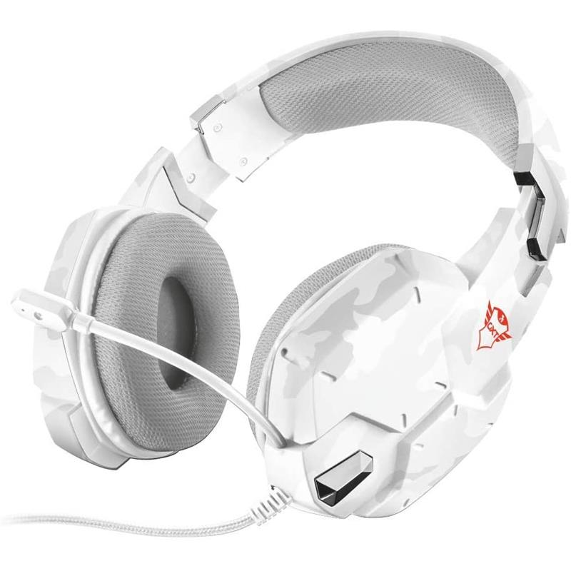 AURICULARES TRUST GXT322 CARUS GAMING HEADSET FOR PS5 WHITE