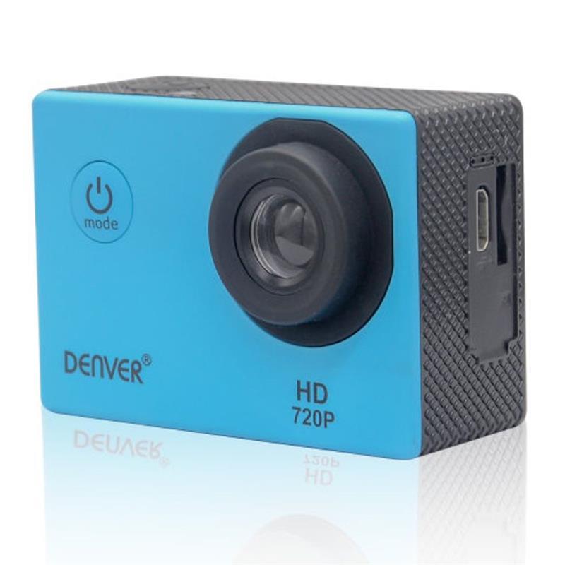 CAMARA DEPORTIVA DENVER HD 5MPX 720P BLUE