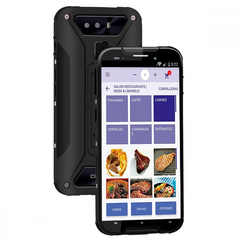 COMANDERO PDA SMARTPHONE CUBOT QUEST LITE 5 QUAD 3GB/32G/4G/IP68/RUG/BLACK