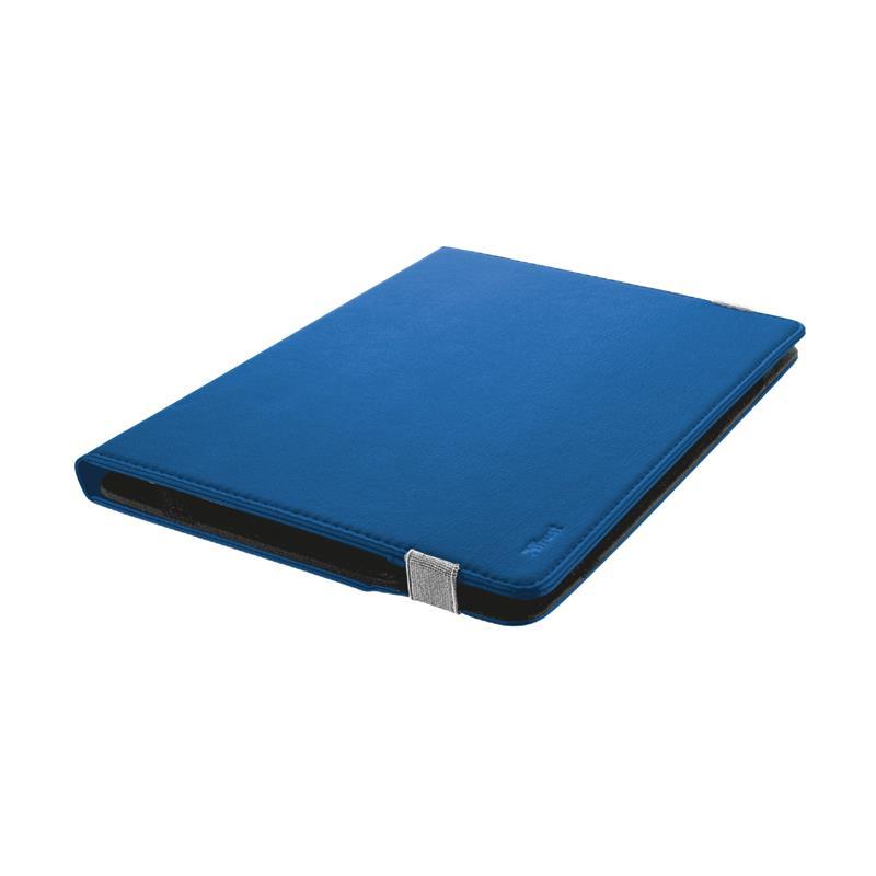 FUNDA TRUST PRIMO FOLIO PARA TABLETS 10 BLUE