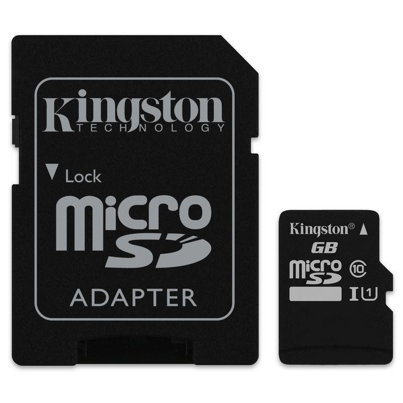 MEMORIA MICRO SD 64GB KINGSTON XC C10 + ADAPTADOR SD