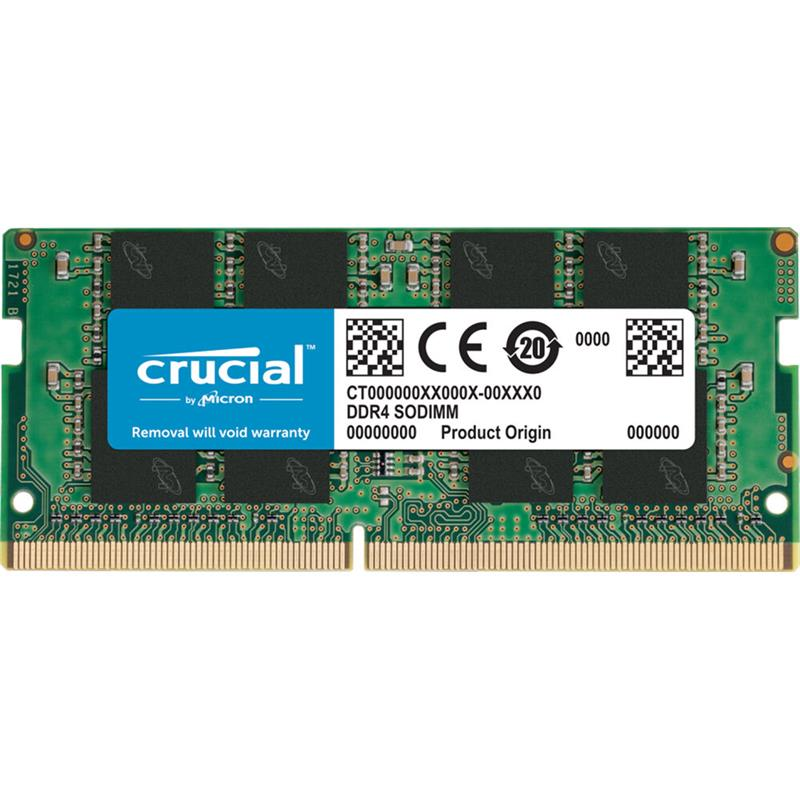 MEMORIA SODIMM 16GB CRUCIAL DDR4 2666MHZ