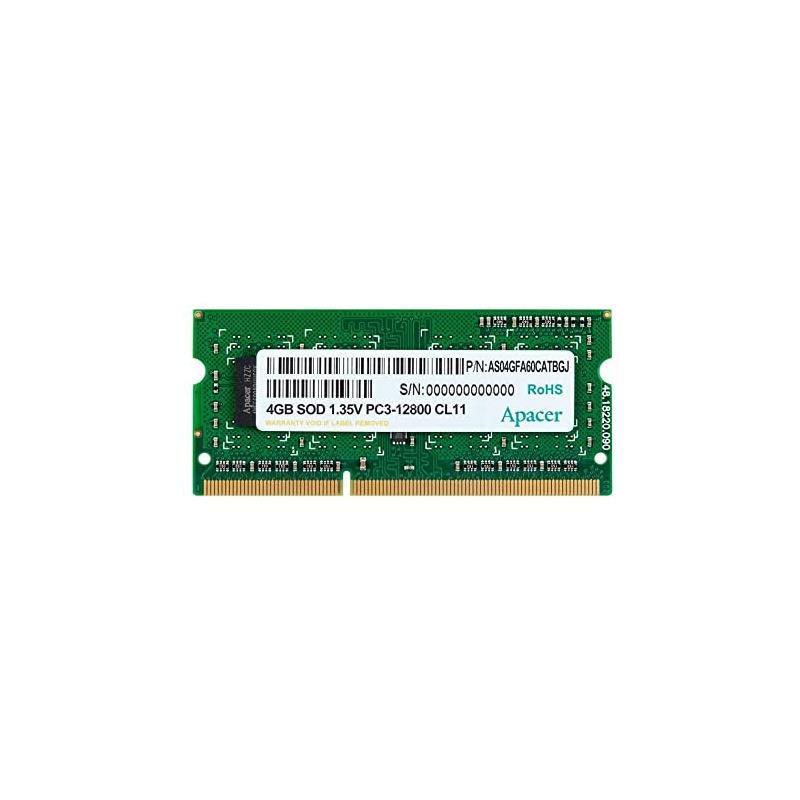 MEMORIA SODIMM 4GB APACER DDR3 1600MHZ