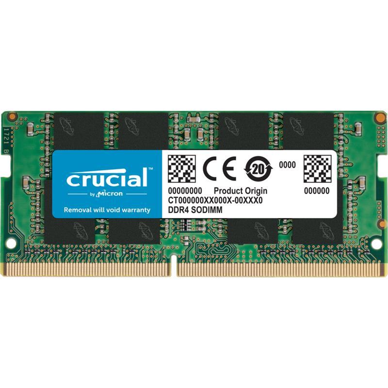 MEMORIA SODIMM 4GB CRUCIAL DDR4 2666MHZ