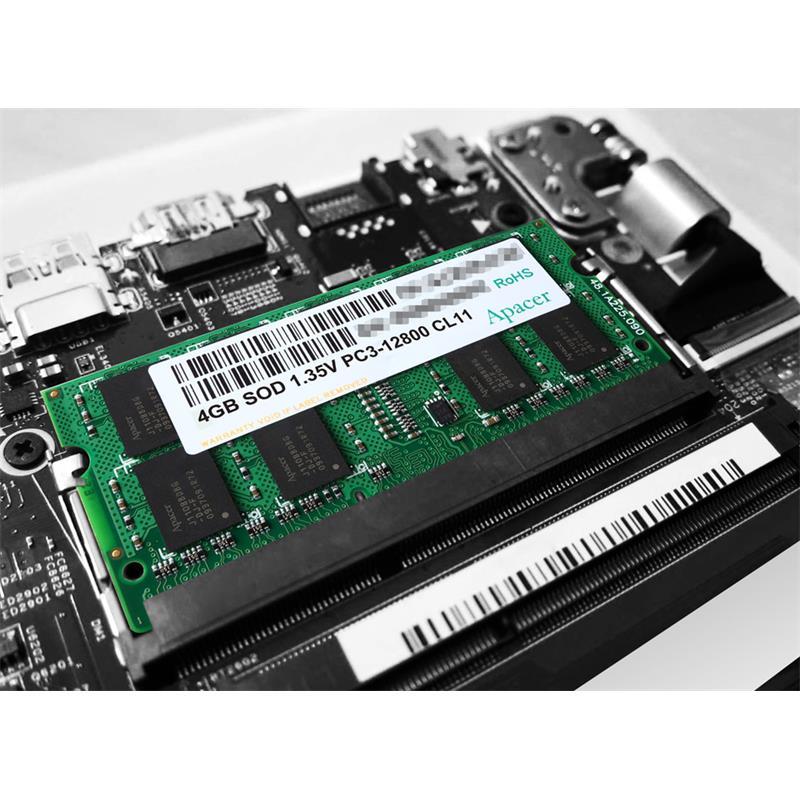 MEMORIA SODIMM 8GB APACER DDR3 1600MHZ