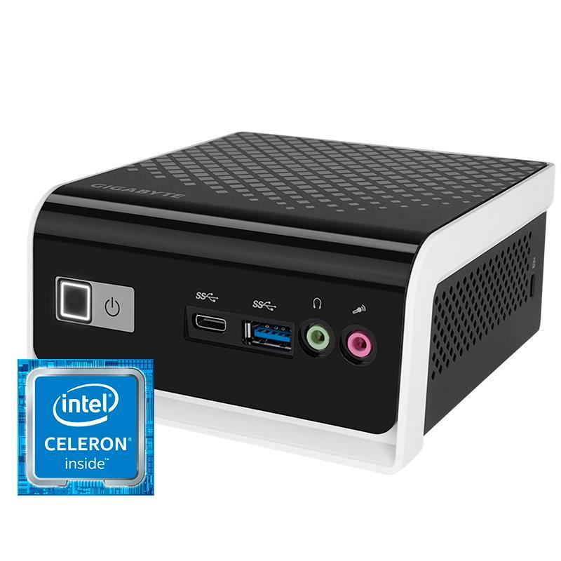 ORDENADOR GIGABYTE BRIX CEL4000/4G/SSD120GB/ HDMI/VGA/USB-C/WF