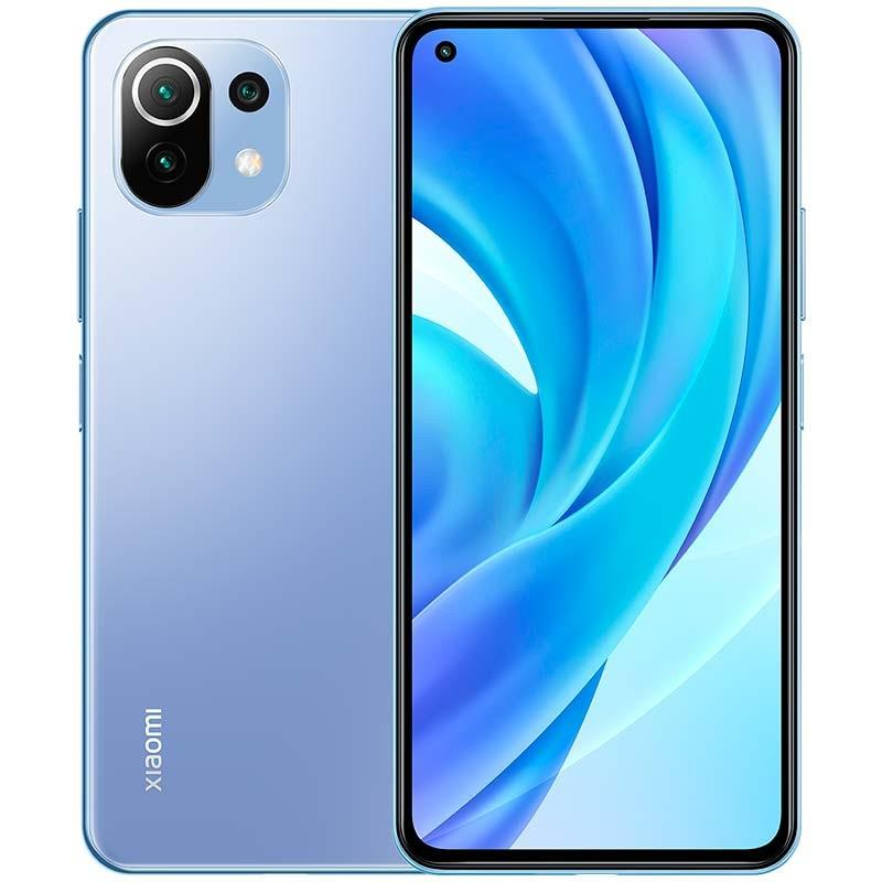 SMARTPHONE XIAOMI MI 11 LITE  6.55 FHD 780G 6GB/128GB/64MPX/4G BLUE