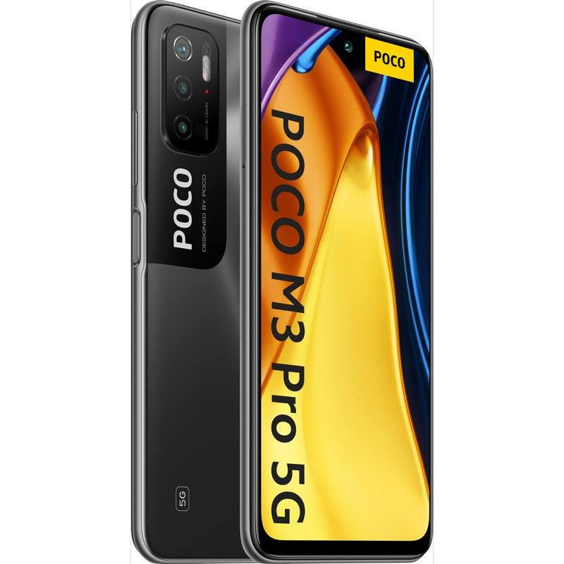 SMARTPHONE XIAOMI POCO M3 PRO  6.5 FHD OCTA 6GB/128G/48MP/NFC/5G BLACK