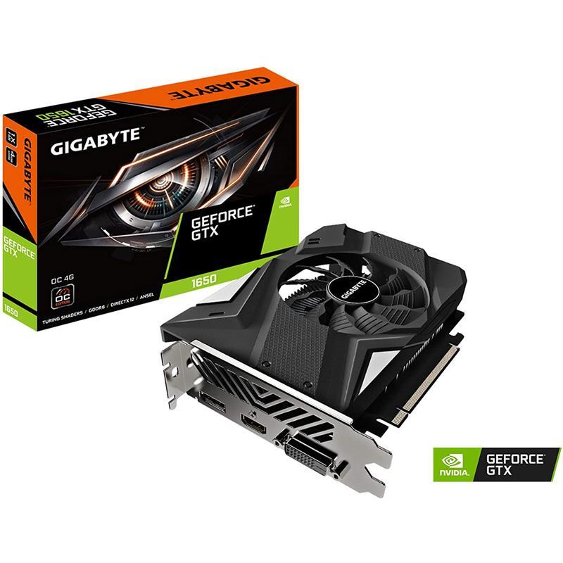 TARJETA DE VIDEO GIGABYTE GTX1650 4GB OC DDR6