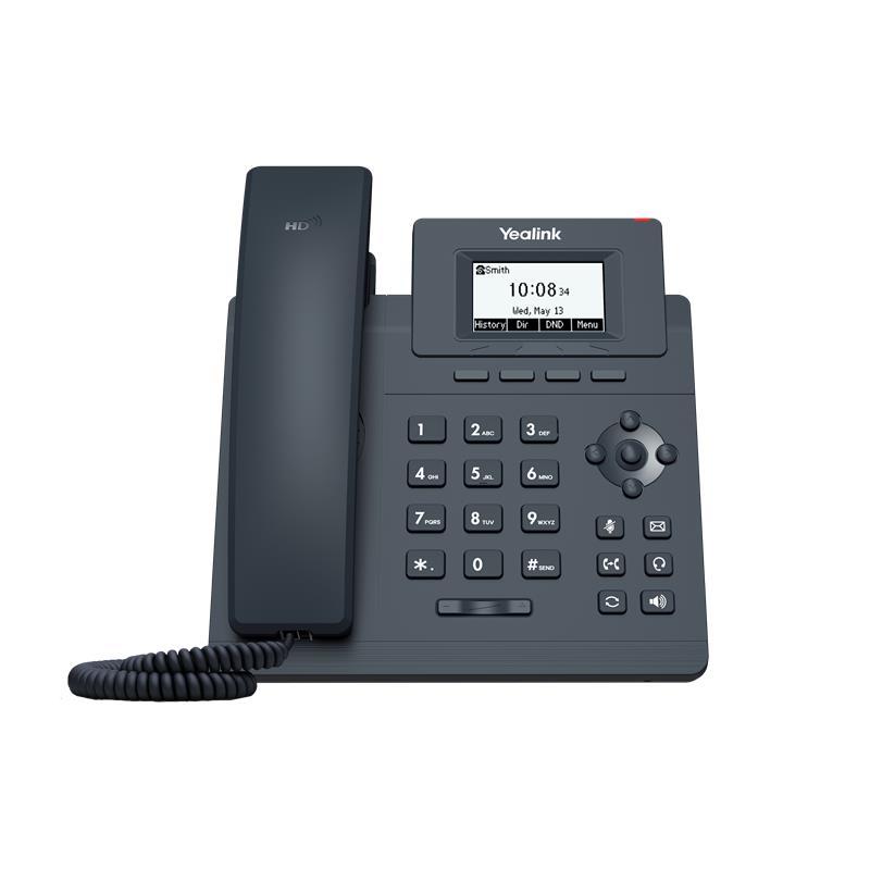 TELEFONO YEALINK SIP-T31G IP 2 LINES HD VOICE POE