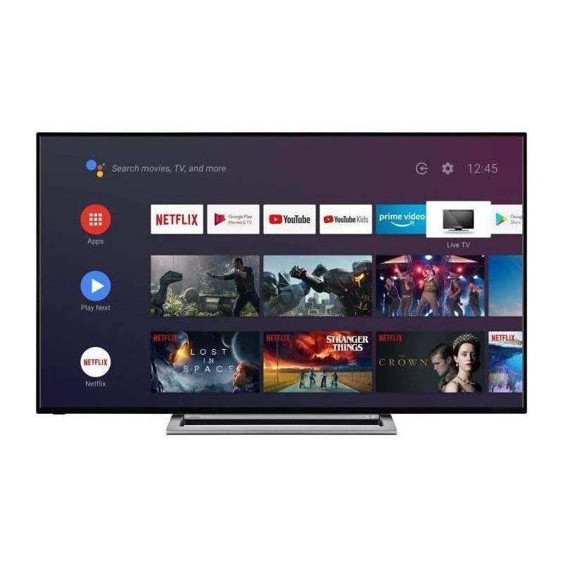 TELEVISOR LED TOSHIBA 50 4K UHD USB SMART TV WIFI DOLBY VISION ANDROID